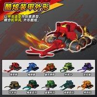 Smart creation super beetle record toy warrior wheel anti fight dazzle fighting car boy's children's suit taros