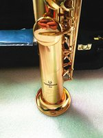 Yanagisawa S-901 BB Straight Soprano Sassofono Strumenti musicali di alta qualità Soprano Sax Soprano con bocchino Cabina rigida regalo