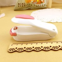 Kitchen Accessories Tools Mini Portable Food Clip Heat Sealing Machine Sealer Home Snack Bag Sealer Kitchen Utensils Gadget Item DFF4740
