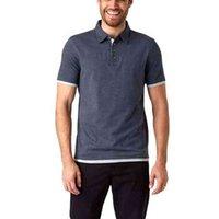 Abbigliamento per ginnastica Polo Porta la camicia da uomo in cotone al 100% / camicie per serigrafia a seta T-shirt da uomo personalizzata