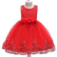 فساتين الفتيات الفتيات شبكة الأطفال الأميرة عيد الميلاد تصميم الأطفال اللباس
