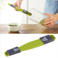 Measuring Spoons Measure Copo Cozinha Gadget Duplo Fim de Altura Ferramenta Ajustável Escala Ferramenta Quantitative Colher Acessórios