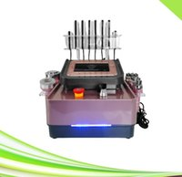 salon spa 6 in 1 tripolar rf skin tightening vacuum cavitation system slimming laser lipo machine