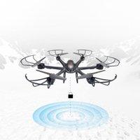 Parkten MJX X601H Cámara FPV Drone Transmisión en tiempo real RC Helicóptero 2.4G 6 ejes Cuadrocopte Modo sin cabeza juguetes de drones para niños