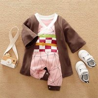 Dragon DBZ Anime Baby Clothes Full born Girl Boy Outfit Cosplay Overalls Halloween Costume Jumpsuit Infant Rompers 211009