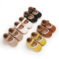 First Walkers Spring And Autumn Style 0-18 Months Born Baby Toddler Shoes Soft Sole Rubber Anti Slip Princess