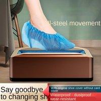 문을 통과하는 자동 신발 덮개 기계 보호 일회용 멤브레인 커버에 신발 풋 미끄러짐 변경을 피하십시오