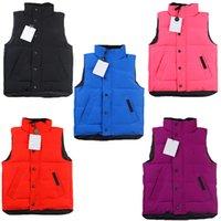 Çocuklar Yelek Erkek Ceketler Kız Kış Mont Klasik Mektup Yelek Aşağı Giysek Bebek Teen Giysileri Giyim Çocuk Giyim Ceket Ceket Hırka Weskit 5 Renkler
