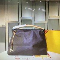 mm 중간 기지 디자이너 여성용 어깨 핸드백 클래식 여행 지갑 패션 브랜드 편지 갈색 오래 된 양각 된 꽃 여자 토트 럭셔리 레이디 핸드백