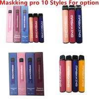 Maskking High Pro Disposable Cigarette Russia Version 1000 p...