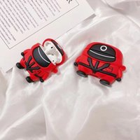 Squid Game Case for Airpods 1 2 pro Soft Silicone Wireless Bluetooth Earphone Protection Cover Funda