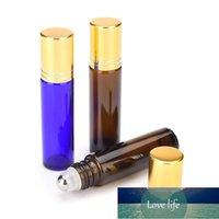 Storage Bottles & Jars 10 ML Roll On Vial Lucifuge Glass Essential Oil Refillable Bottle Lip Gloss Tube Massage Tools Portable Perfume