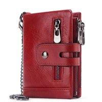 2020 New Women Genuine Leather Wallet Female Purses Big Capacity Hasp Zipper Purse Ladies Long Wristlet Clutch Coin Card Holders