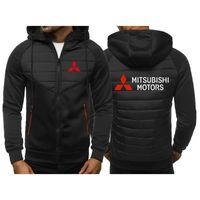 Men's Hoodies & Sweatshirts 2021 Spring And Autumn Mitsubishi Motor Casual Fashion Shoulder Hooded Cardigan Zipper Hoodie 33
