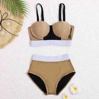 جديد بيكيني ملابس للنساء العلامة التجارية الساخنة المايوه بحر البيت الصيف قطعة واحدة مثير سيدة g إلكتروني زهرة طباعة ملابس السباحة قطرة shippingiog4m