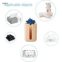 Tissue Boxes & Napkins Box Wall Hanging Storage Case Kitchen Napkin Paper Cylinder Bathroom Toilet Organizer Household Supplies