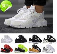 2021 Huarache 4.0 1.0 Klasik Üçlü Beyaz Siyah Kırmızı Erkek Bayan Ayakkabı S Spor Sneaker Boyutu EUR 36-45 BB