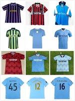 1989 1998 1999 2000 2011 2011 rétro Gallagher Haaland Jerseys Home Blue Man 11 12 Classic Dzeko Kun Aguero Balotelli City Nasri Silva Football Shirt