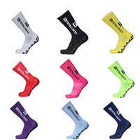 2021New Sports Anti Slip Soccer Socks Cotton Football Men Calcetines (The Same Type As The Trusox)