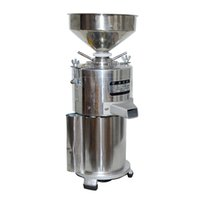 15kg / h Commercial Sesame Cabinet d'arachide Miller Pistachio Stuff Stuff Machine de pâte à pistolet 1100W Machines à pâte Sesame 2800R / min