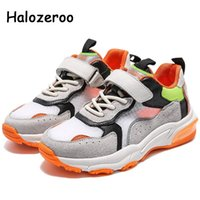 Sneakers Spring Kids Sport Children Genuine Leather Baby Girls Black Casual Boys Brand Running Shoes Trainers