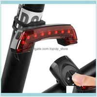 Lights Cycling Sports & Outdoorsusb Rechargeable Bicycle Wireless Smart Remote Control Turn Signal Tail Light Horn Led Lamp Bike Aessories D