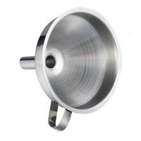 Herramientas de cocina Funcional Aceite de acero inoxidable Fondo de miel con filtro de colador desmontable para perfume herramienta de agua líquida GGA5135