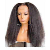 Pelucas de cabello humano recta rizado con pelo de bebé Remy brasileño 5x5 Pelucas de cierre de la base de seda 13x6 pelucas frontales de encaje para mujeres
