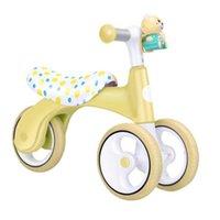 Baby Balance Bike Toddler Walker Riding Toy With Silent Wheels Children Twist Car Motorcycle Mini Balance Bike Bicycle Toys Gift Y0913