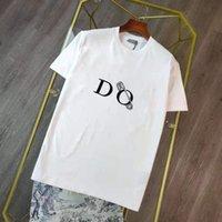 남성 T 셔츠 여름 소년 탑스 캐주얼 여자 슬림 히찌 스트리트웨어 통기성 브랜드 티셔츠