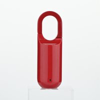 Portable Waterproof Mini Smart Padlock USB Rechargeable Fingerprint Control Keyless Door Lock Security Without App No WiFi