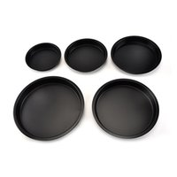 Vacclo Iron Pizza Obenware Tearware Tape Cookie Round Obenware Non-Stick DIY Home Bakery Comal Patisserie Solid Tools