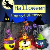 5 шт. / Упаковка Хэллоуин светло-тыквенный призрак фонарь вампир летучая мышь свет милый мультфильм светодиодные лампы игрушки мяч сад дома орнамент макет вечеринка детская комната украшения в комнате G83DKQ