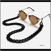 Cadenas Aessies Aessies Aessories Acrílico Gafas de sol Mujeres Lectura Colgante Cuello Colgante Largand Glasses Cadena Cadena Cuerda Gafas Aessory 730
