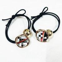 Marca Titular De Cabelo Cabelo Scrunchies Elastic Bands Scrunchy pilares cordas Scrunchie para mulheres ou meninas Headband