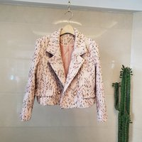 Women's Jackets 2021 elegant female chic autumn of vintage blazers fashions tweed short b707 jacket