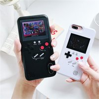 Giochi di gioco portatili Zorx Retro Mini Palmare console a colori Videogiochi Impianti integrati 8 Cassa del telefono macchina per X XS 6 6S 7 Plus