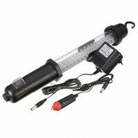 Portable Ultra Bright 60 LED LED 350LM ricaricabile lampada da lavoro in garage lampada da lavoro con gancio appeso c5HF #