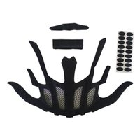 Cycling Helmets Sealed Lining Sponge Helmet Sticker Inner Padding Foam Protection Pads Kit For Outdoor Sports Motorcycle Bicycle Accessories