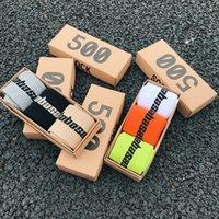 Uomini e donne Personalità Sock 3 Paia / Box Moda Abbigliamento Crew Stagione 6 Calabasas Socks Match 500 Tidal Youth