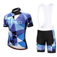 2021 Yaz Bisiklet Forması Seti Nefes Takım Yarış Spor Bisiklet Kitleri Erkek Kısa Bisiklet Giysileri M26