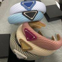 5 цветов дизайнерские повязки полосы волос для женщин-девочки бренд эластичная буква P повязка спортивных фитнес-головы