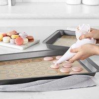 Silicone de silicone não-stick Folha de pasta de almofada reutilizável ferramentas de pastelaria rolando tamanho grande para biscoito biscoito macaron pins placas