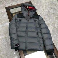 Мужчины мода зимняя куртка удобные мягкие куртки 90% гусиный повседневный дизайнер мужские тонкие подходят пальто одежды