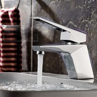 Bathroom Sink Faucets HY-91 Pull Out Spray Pure Water Double Faucet Tap Filler Kitchen Steps Filter Ceramic Spool