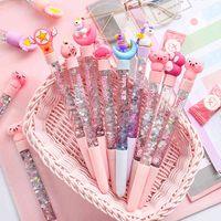 Pen Korea Creative Fairy Stick Leuke Cartoon Star in olie Dicksand Creative Magic Kleurrijke Quicksand Neutral