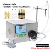 ZS-YT80 Semi Automatic Liquid Pilling Machines 3-2500ml Piccoli bottiglie di bevande per profumi Pompe peristaltiche Pompa Peristaltica Riempimento da scrivania per birreria oliva