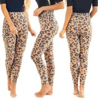 Home&Nest Women Leopard Print Elastic High Waist Legging Pants Lady Leggings Home Long Trousers Slim Indoor Sports Women's & Capris