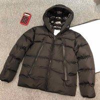Mens Jacket Parka 클래식 캐주얼 한 코트 야외 깃털 겨울 옴므 유니섹스 코트 겉옷 방풍 및 따뜻한 크기 S-2XL