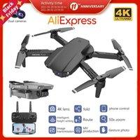 Машина Дрон БПЛА с 4K HD Professional Camera Высококачественная Четыреосная Wi-Fi Пульт дистанционного управления Дрон Quadcopter Игрушки Дроны